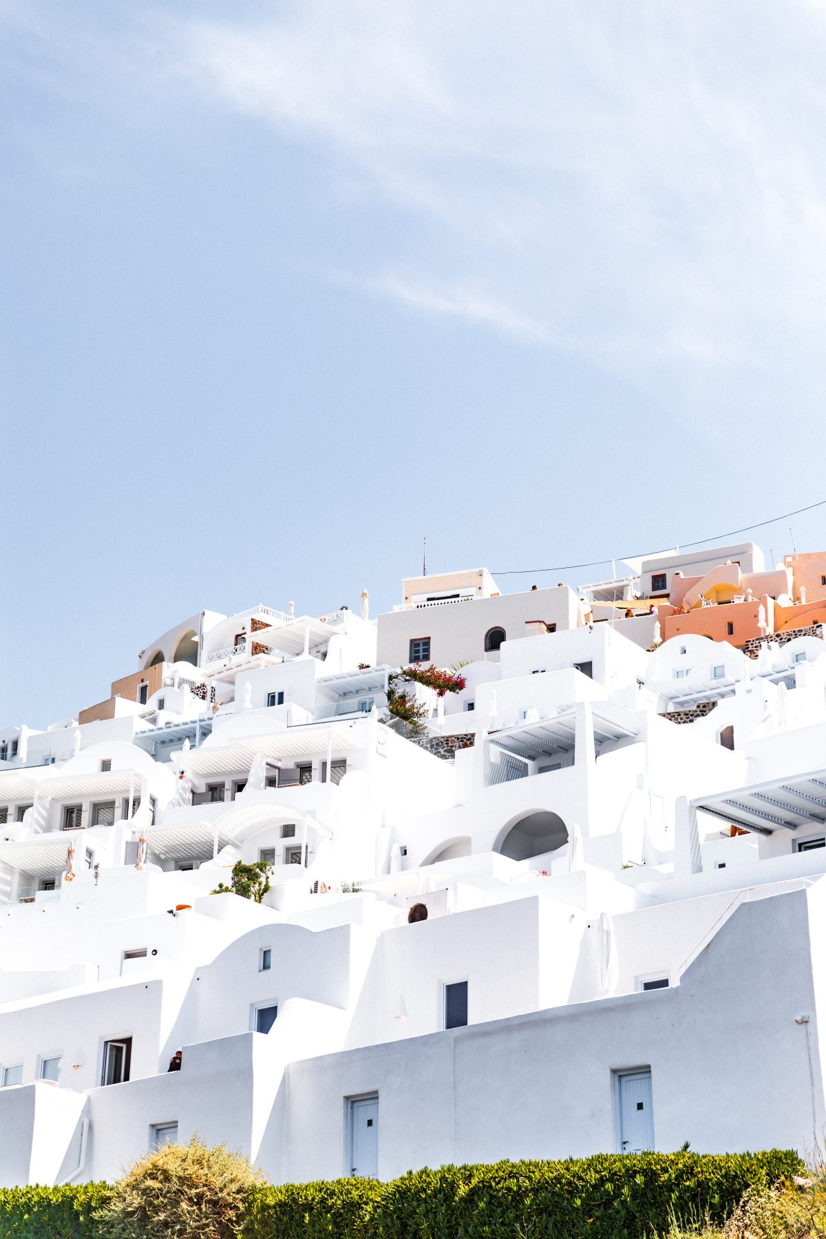 white cyclades