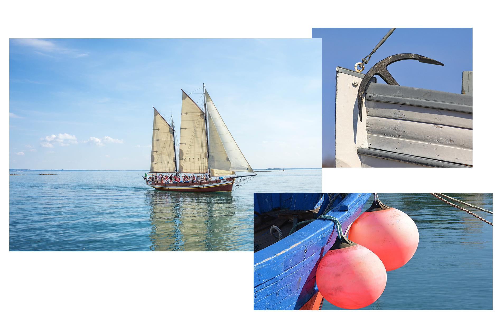 boat cruise around greece